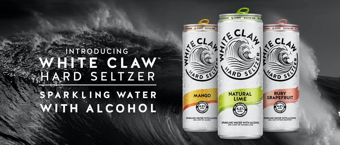 White Claw Seltzers