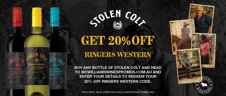 Stolen Colt Wines