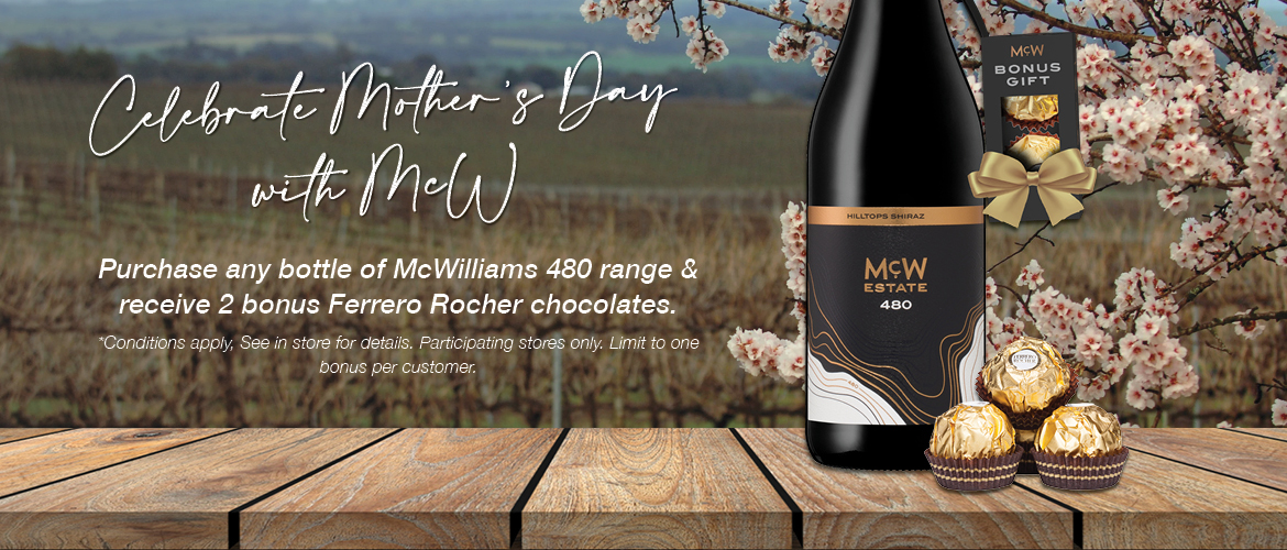 Celebrate Mother's Day with McWilliams Wine