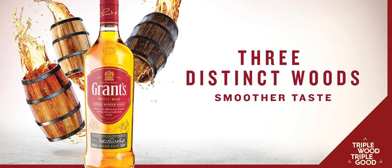 Grants Triple Wood Scotch
